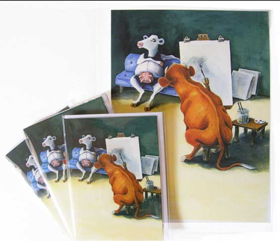 Daft Cows - Life Drawing Class