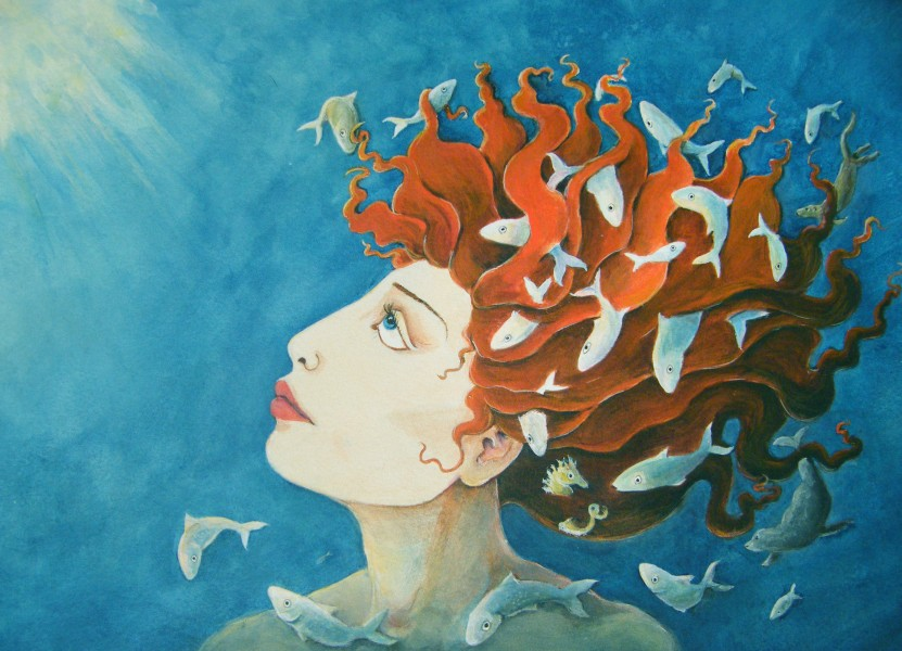 Sedna - Painting by Diane Young
