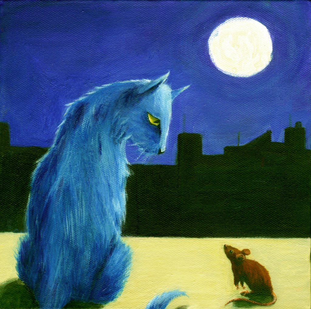The Meeting - painting by Diane Young