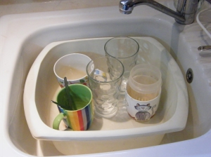 Wash up?