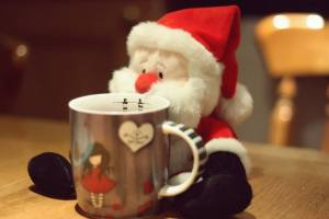 Christmas photo of Toy Santa
