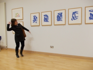 Exhibition of Artist Matisse Cut Outs