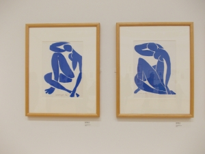 Art exhibition Matisse Cut outs