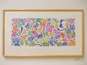 Matisse Lithograph Painting of flowers