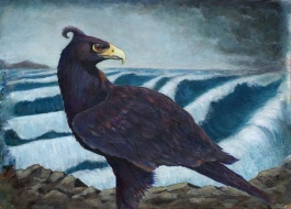Painting by Diane Young of the Mythological Thunderbird