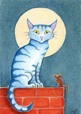 Le Chat Bleu 600 dpi