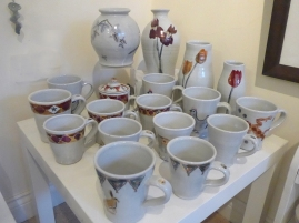 Pottery at the Cotswold Craftsmen Gallery in Nailsworth