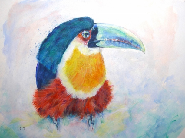 Toucan Green billed Bedazzle(1024x768)