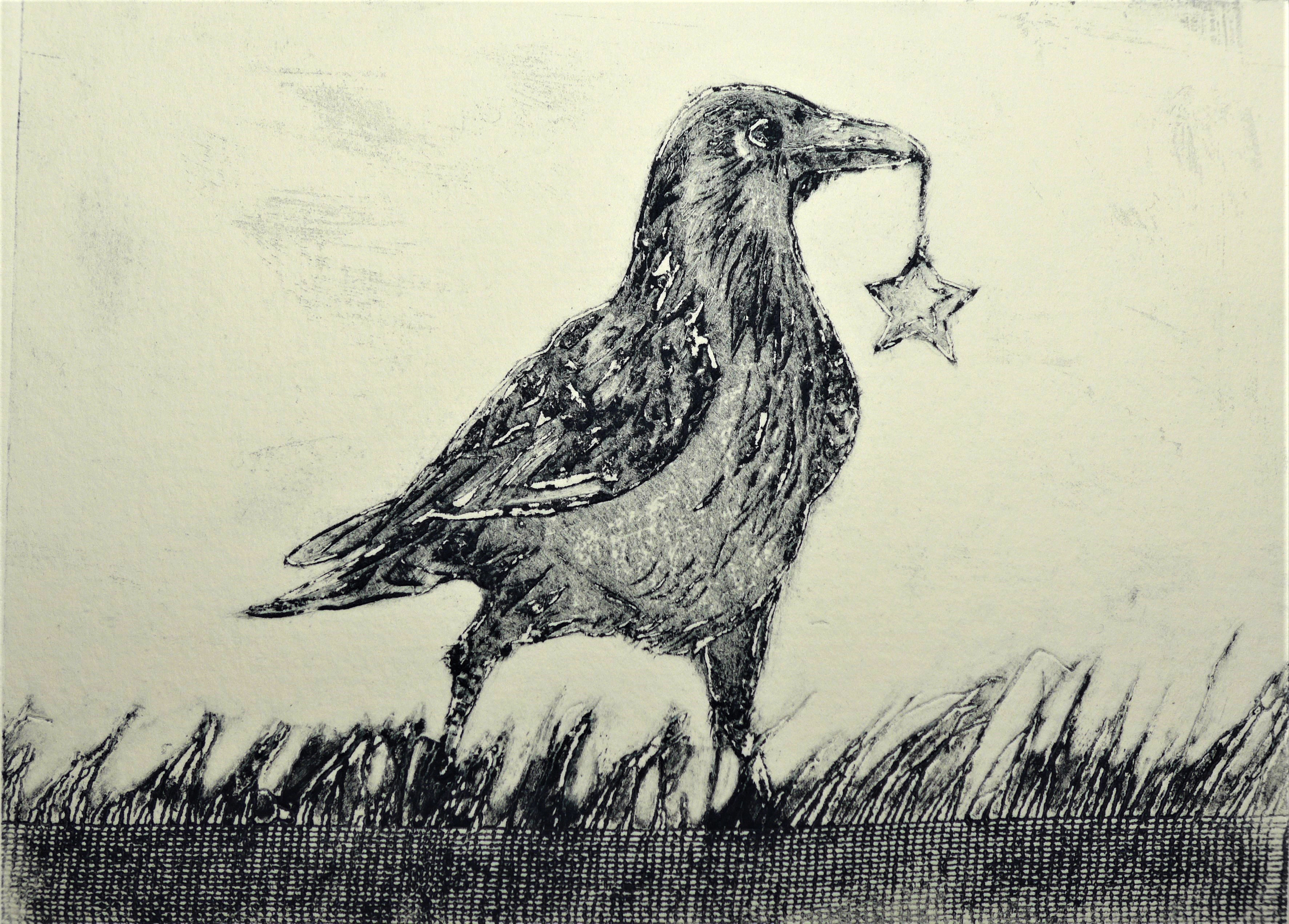 Crow carrying Star