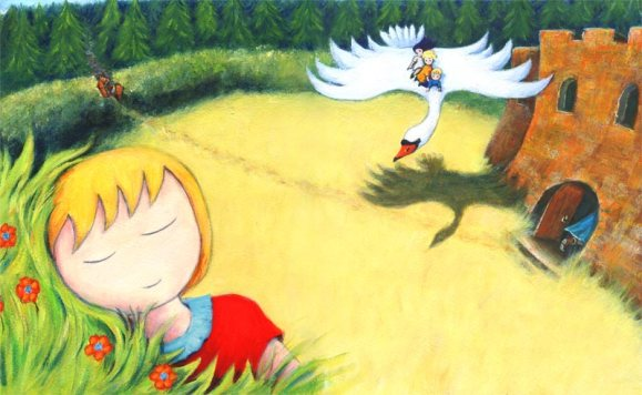 Original painting from a story book by Diane Young ARtist